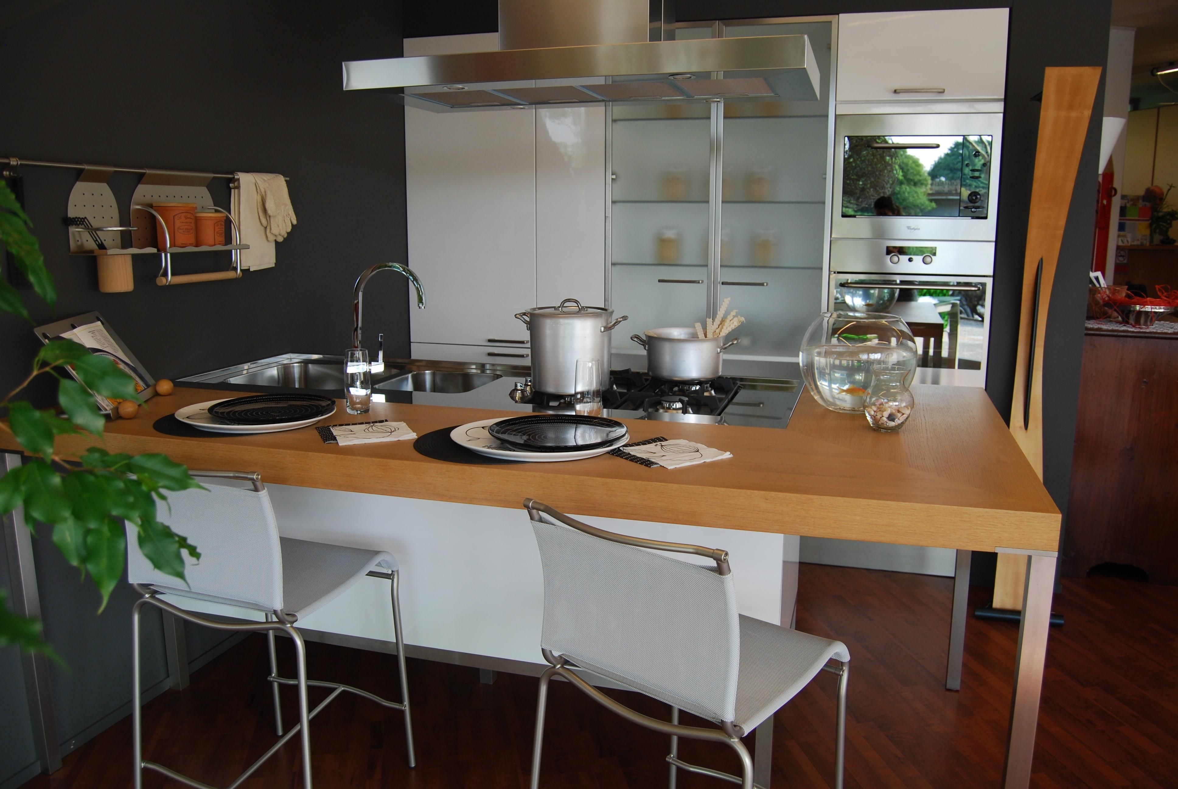 Cucine a parete cucine moderne with cucine a parete - Cucine a parete ...