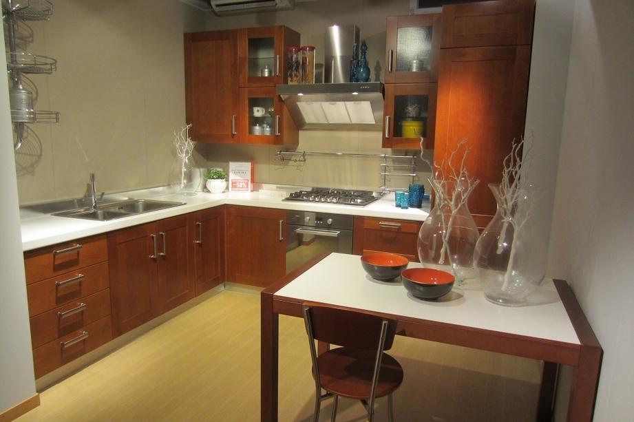 Cucine ciliegio e panna la scelta giusta variata sul - Cucina scavolini carol ...