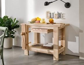 Cucina Mottes selection design lineare altri colori in legno Bancone da falegname