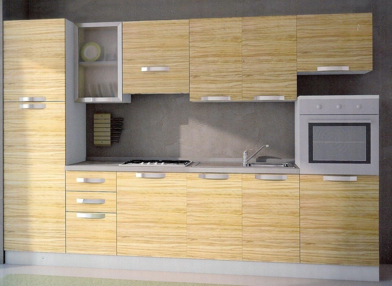 Cucina mt 3 151 cucine a prezzi scontati - Cucina 3 metri completa elettrodomestici indesit prezzi ...