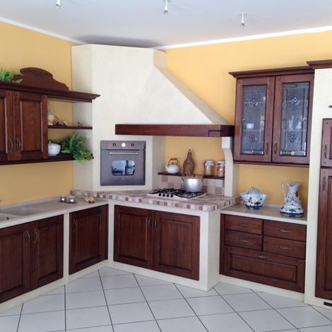 outlet Cucina Muratura Angolo Arrex Gloria