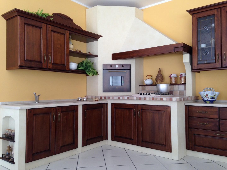 Cucina muratura angolo arrex gloria cucine a prezzi scontati - Foto cucina in muratura ...