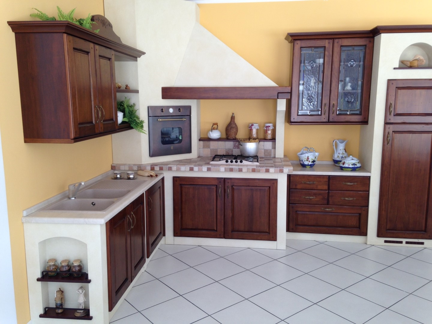 Cucine Rustiche In Muratura. Great Gallery Fianchi Per Cucine In ...