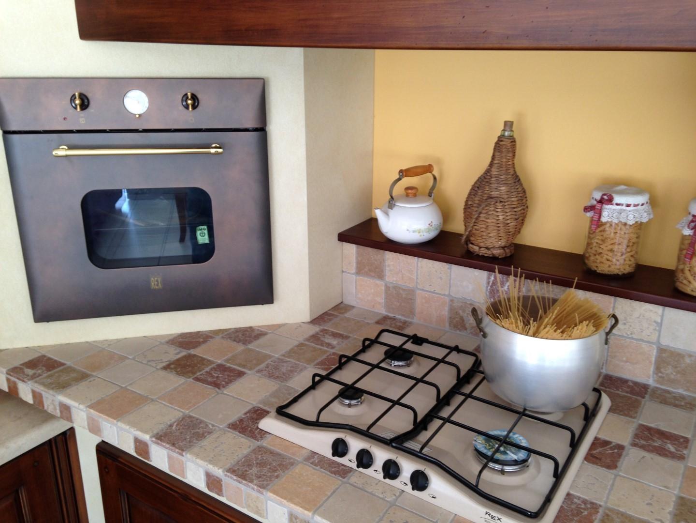Cucina muratura angolo arrex gloria cucine a prezzi scontati - Cucina angolo cottura in muratura ...