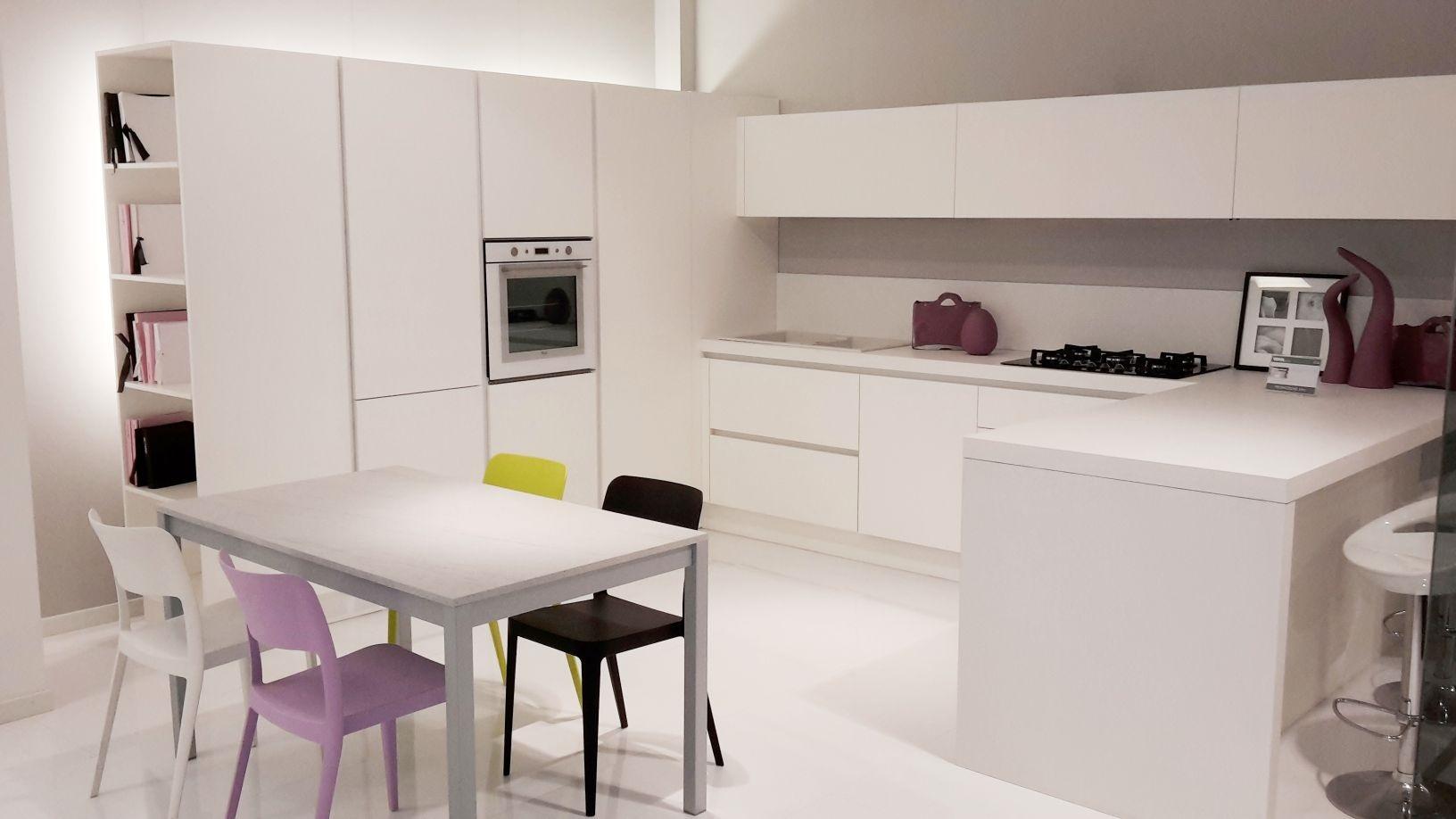 Cucine moderne con penisola design idee creative di - Cucine con penisola ...