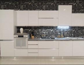 Cucina New meg moderna bianca lineare Mobilturi cucine