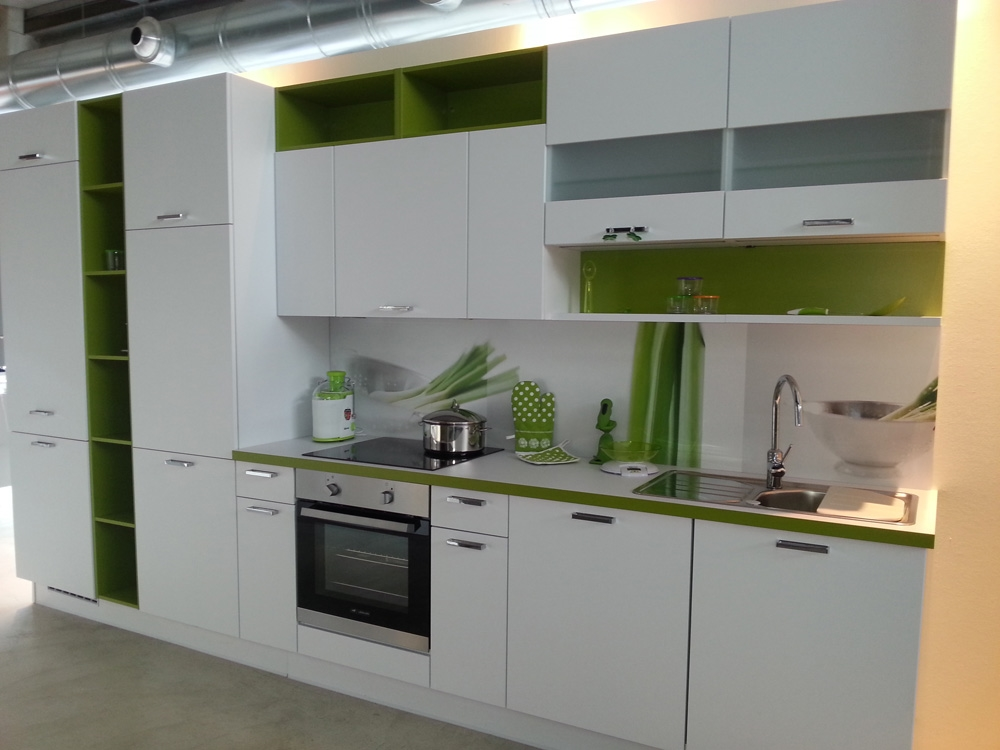 Zanotto cucina zanotto moderna laminato opaco bianca for Cucine outlet