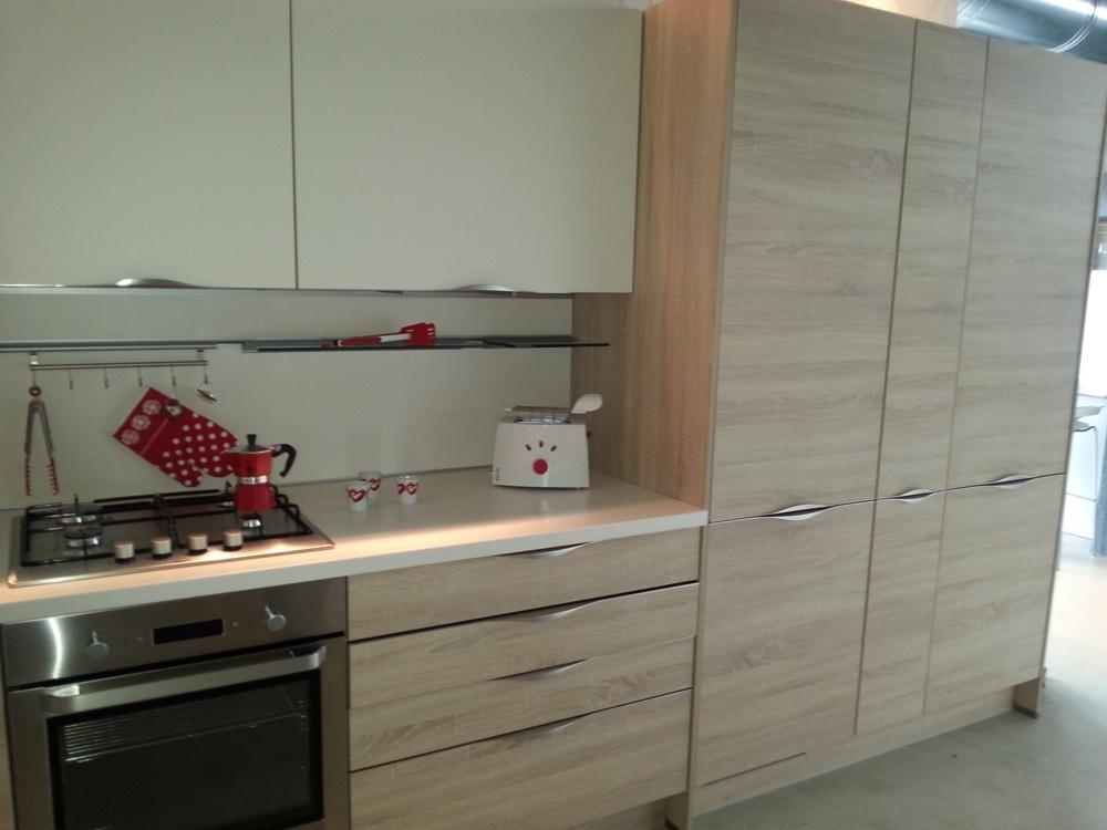 Cucina zanotto zanotto moderna laminato materico neutra   cucine a ...