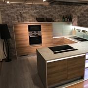 Cucina MEG Riviera Rovere Ontario con elettrodomestici BOSCH  scontato del -41 %
