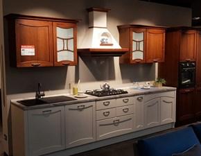 Cucina noce classica lineare Aurea Creo kitchens