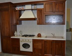 Cucina noce classica lineare Rossella Gentili cucine in Offerta Outlet