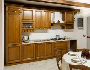 Cucina noce classica lineare Tosca Arredo3