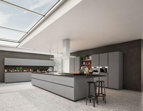 Cucina noce design lineare * kate Zecchinon