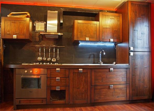 Cucina nuovi mondi cucine composizione cucina in legno - Mobili cucina etnica ...