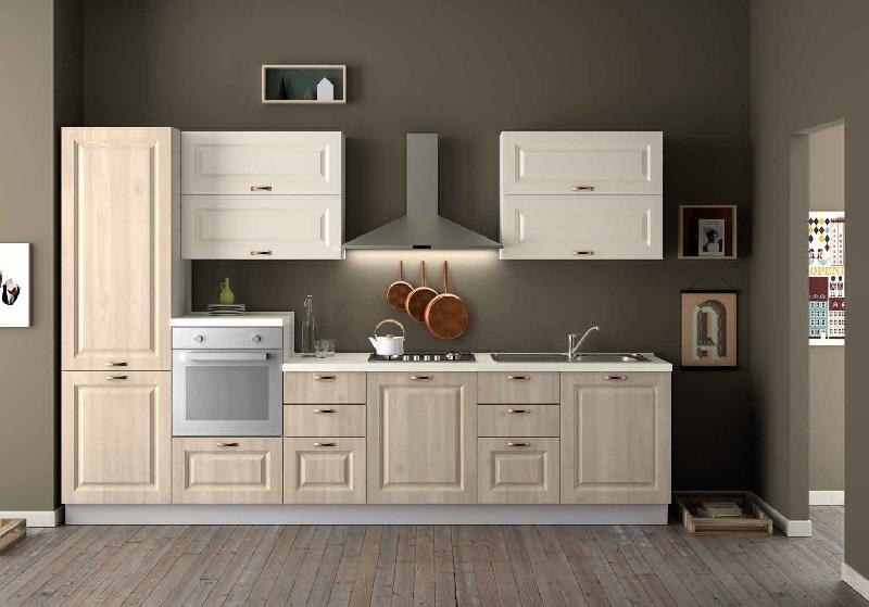 Cucina nuovi mondi cucine cucina classica lineare shabby - Cucine a colori ...