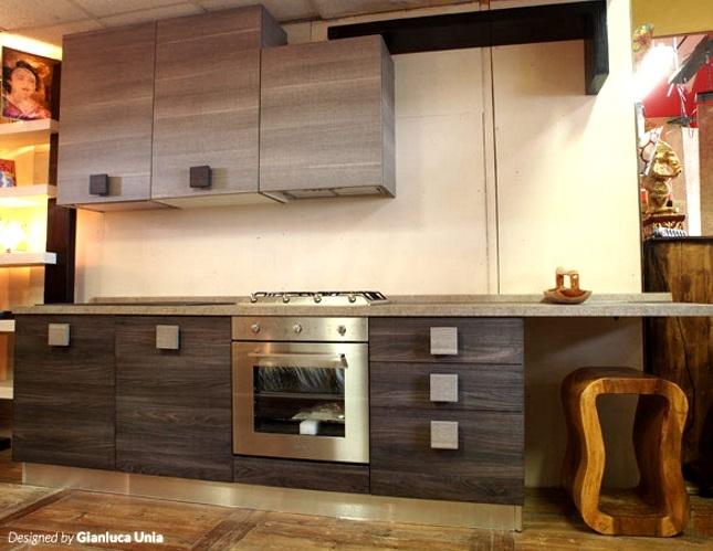 Cucina design etnico quadra scontato del 50 cucine a for Arredamento design scontato