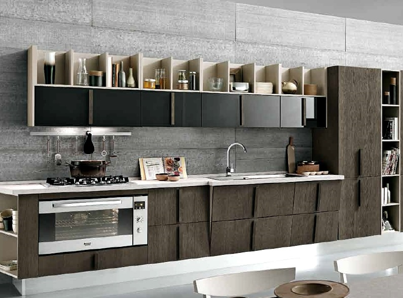 Cucina nuovi mondi cucine cucina etnica wood legno - Cucina stile etnico ...