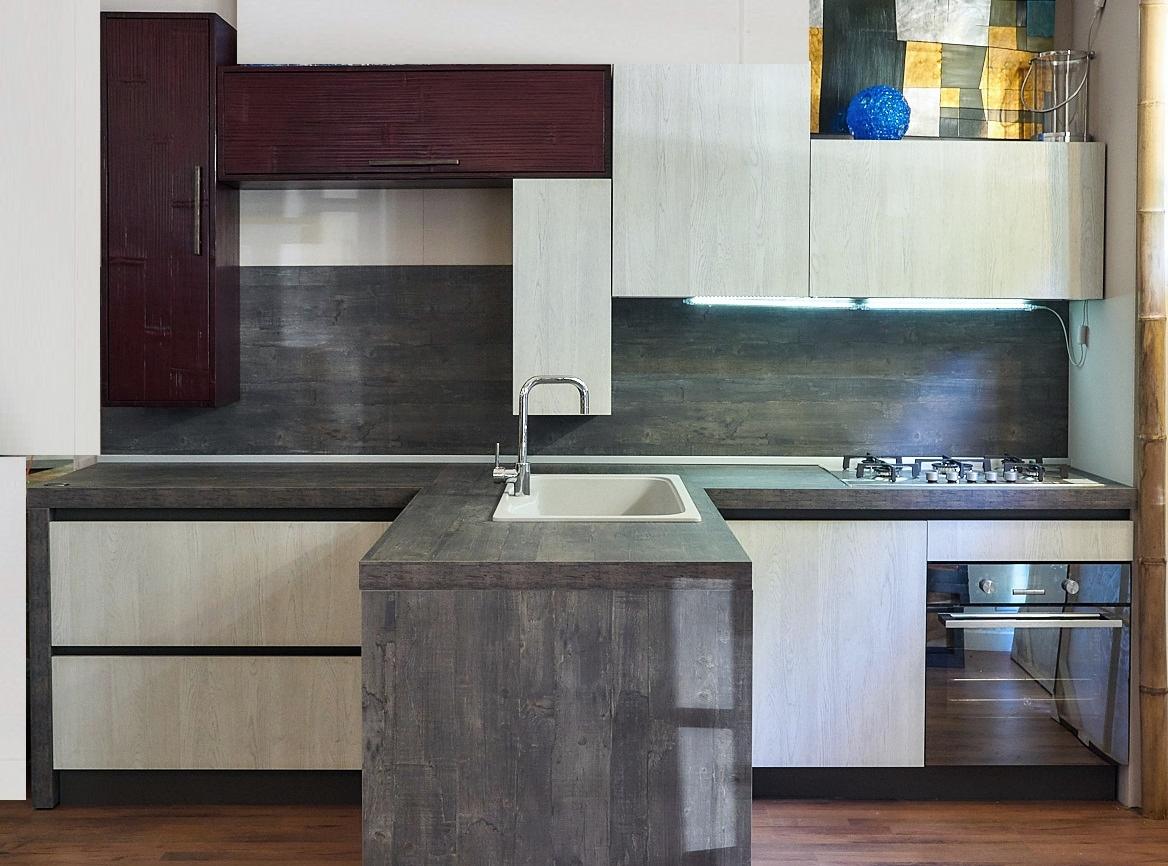 Cucina nuovi mondi cucine cucina moderna con gola in - Cucina in offerta ...