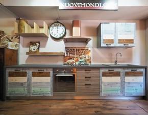 Cucina Nuovi mondi cucine Cucina multicolor legno OFFERTA OUTLET