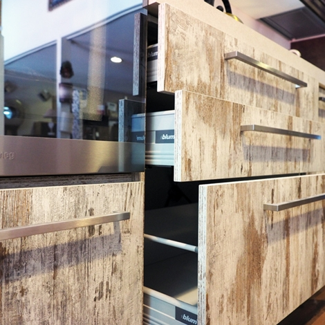 CUCINA ETNO SETA BROWN  DESIGN MODERN