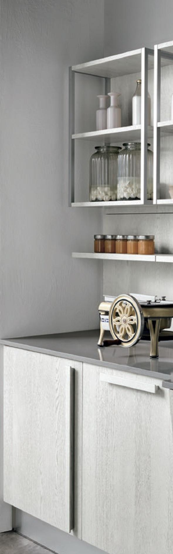 Cucina nuovi mondi cucine cucina shabby chic legno white in offerta ultima composizione bloccata - Cucina composizione bloccata ...
