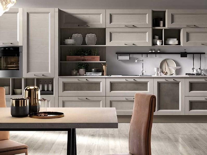 Cucina Nuovi mondi cucine design lineare tortora in legno Cucina ...