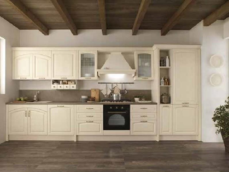 Cucina Nuovi Mondi Cucine Lineare Cucina Modello Shabby Vintage