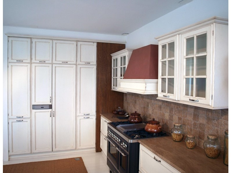 Cucina old country multistrato - Blocco cucina 160 cm ...