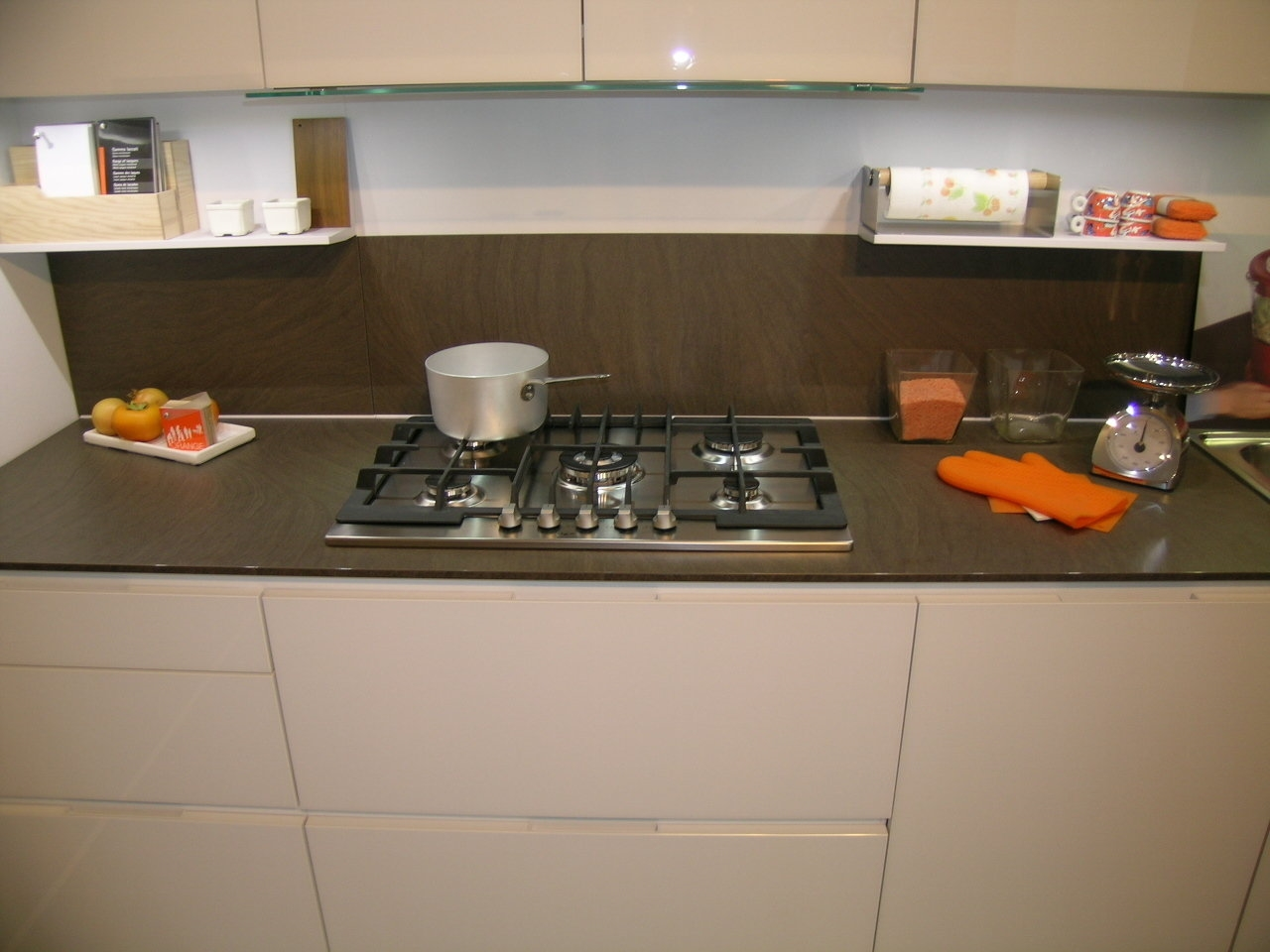 Cucina orange snaidero cucine a prezzi scontati for Snaidero cucine