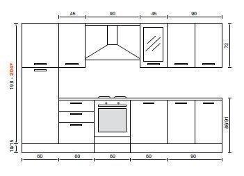 Misure Cucina Standard. Free Pi Di Mobili Per Cucina Sono ...