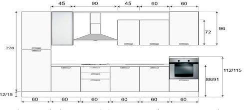 Emejing Misure Cucine Componibili Images - Home Design - joygree.info