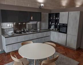 Cucina Oyster decorativo pro 22 moderna antracite ad angolo Veneta cucine