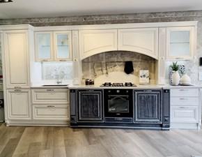 Cucina Pantheon classica bianca lineare Lube cucine