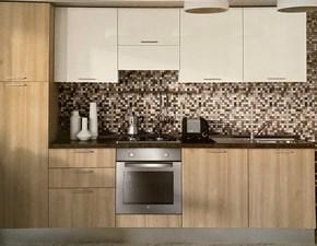 Cucina Paragon 300 moderna ciliegio lineare Colombini