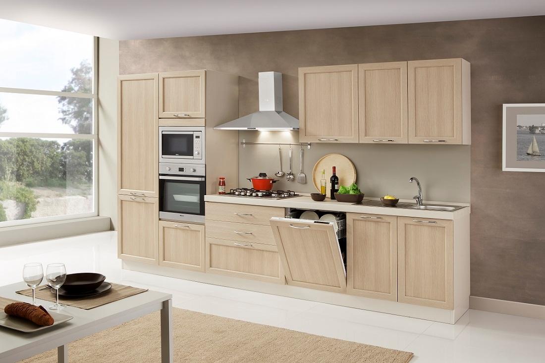 Net cucine cucina patty scontato del 48 cucine a - Cucina 3 metri angolare ...