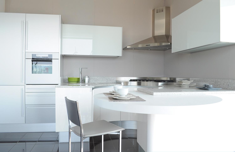 Cucina pedini modello artika laccato lucido bianca cucine a prezzi scontati - Cucine pedini prezzi ...