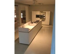 Cucina Plus moderna bianca ad isola Elam