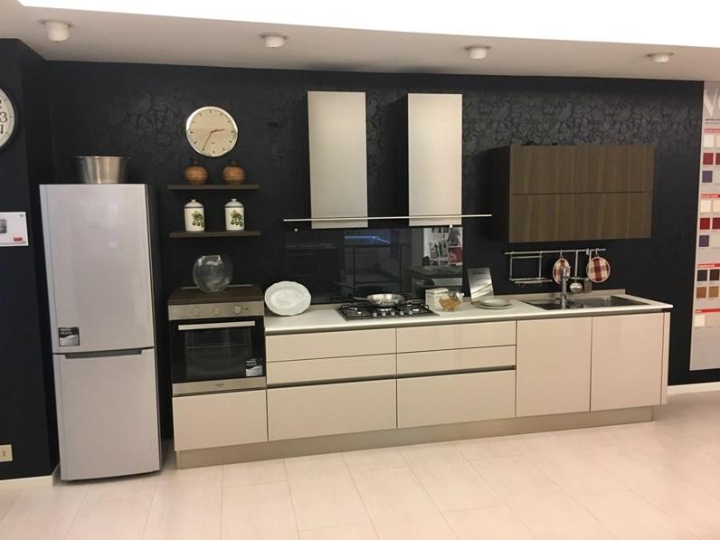 Cucina Riflex moderna grigio lineare Veneta cucine