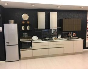 Cucina orange moderna grigio lineare snaidero for Cucina riflex veneta cucine