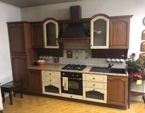 Cucina rovere chiaro classica lineare Aline  Mobilegno cucine in Offerta Outlet