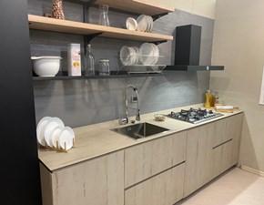Cucina rovere chiaro design lineare Atelier Aster cucine