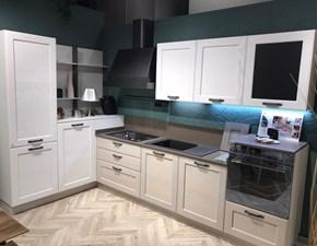 Cucina rovere chiaro industriale ad angolo York Stosa cucine