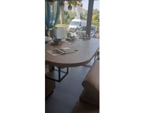 Cucina rovere chiaro moderna ad isola Evolve top Cucine esse