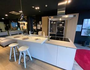 Cucina rovere chiaro moderna ad isola Kyton Nova cucina scontata