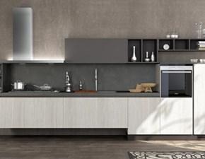 Cucina rovere chiaro moderna lineare Cloe Arredo3 in Offerta Outlet