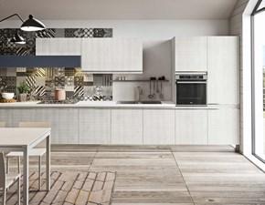 Cucina rovere chiaro moderna lineare Grace Aran