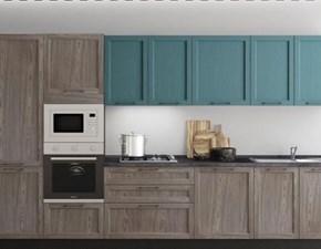 Cucina rovere chiaro moderna lineare Zara 1 Artigianale
