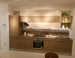 Cucina rovere moro design lineare Ethica frame Veneta cucine in offerta