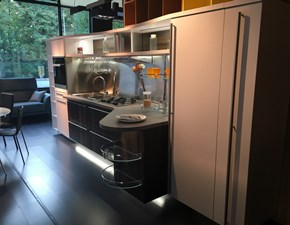 Cucina rovere moro design lineare Skyline 2.0 Snaidero in Offerta Outlet