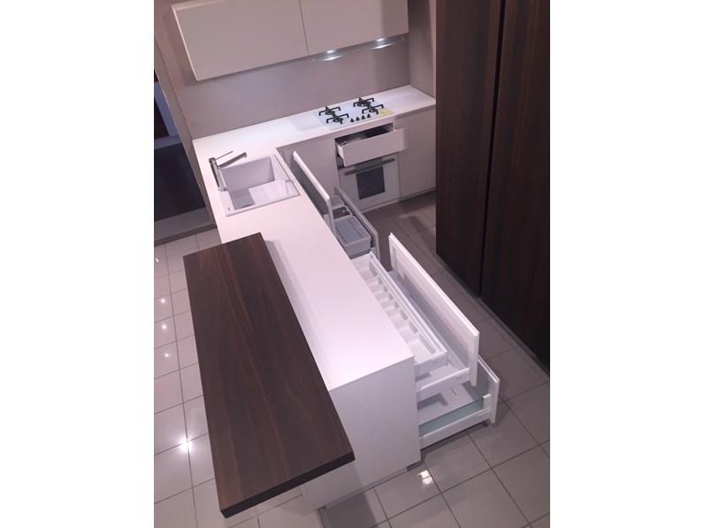 Cucina rovere moro moderna ad angolo ak4 fenix arrital for Moro arredamenti